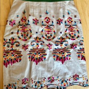Anthropologie skirt. By Corey Lynn Calter.  Sz 8